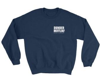 The Office Dunder Mifflin Sweatshirt - The Office TV Show Gifts - The Office Sweatshirt - Dwight Schrute Farms Tshirt - Dunder Mifflin