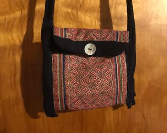 White Hmong Hill Tribe bag