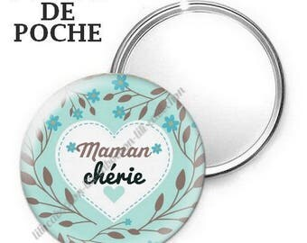 Mirror - badge - 56mm - mother