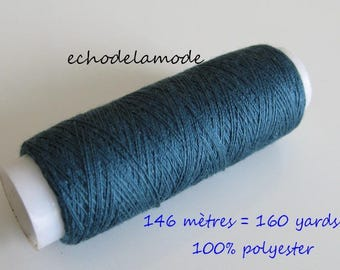 Spool of thread sewing green duck 146 m 100% polyester
