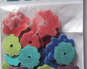 bag of 25 flowers in matching deer - boutonniere
