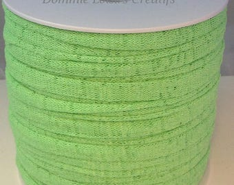 Ball of Trapillo special bag jewelry green lycra lime