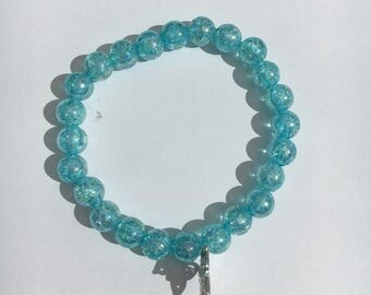 Brilliant blue Beads Bracelet