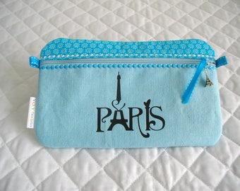 Kit of makeup bag (blue)