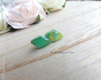 Earrings puce Diamond Peacock