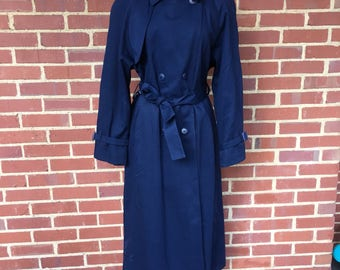 London Fog Union Made womens trench size 10