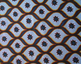 Wax fabric African loincloth coupon 90cm x 118cm