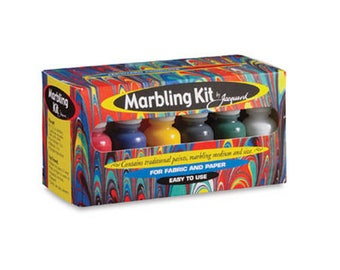 Jacquard Marbling Kit for Marbling paint on paper and fabric