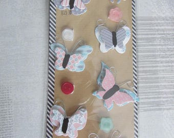 Stickers butterflies 3D adhesive embellishments