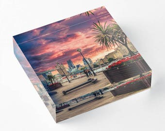 London Dream - Acrylic Block - BalazsRomsics 4 x4 / 6 x 6 Home decor