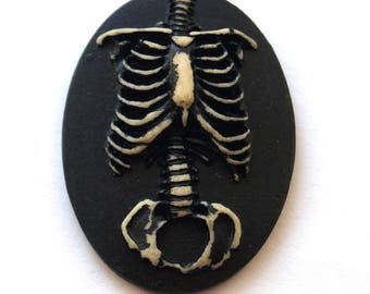 Cabochon cameo Gothic (29x38mm)