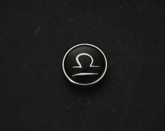 Cabochon 18mm for jewelry - Libra Astro fancy pressure