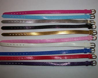 "10 belts for the sweethearts /Corolle paola Reina or or other doll doll similar 14 ""- 32/33 cm - new"