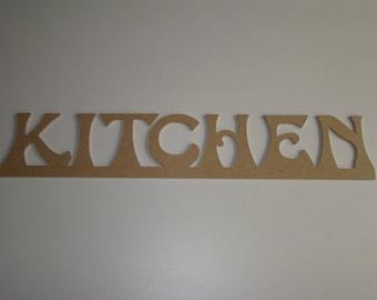 MDF KITCHEN words customize 67 cm