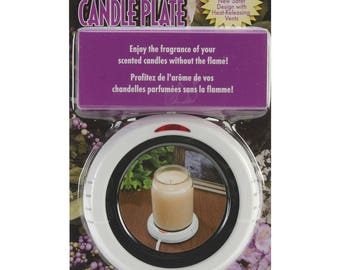 Darice 1199 15 White Candle Warmer 4.25 Diameter