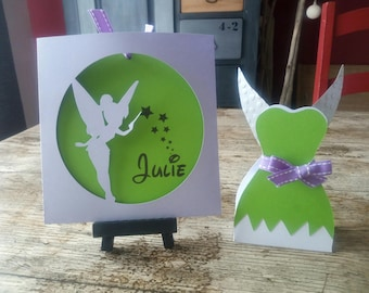 share pouch personalized Tinkerbell