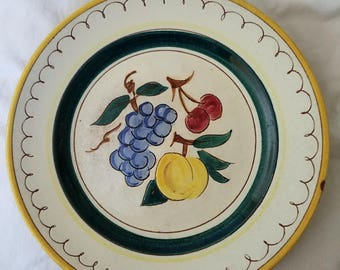 Stangl Fruit pattern 9.5 inch plate