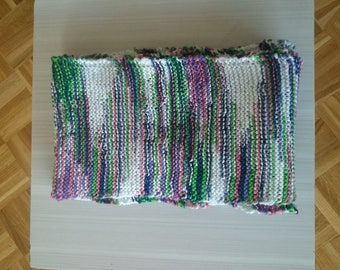 Woman wool quality mesh scarf