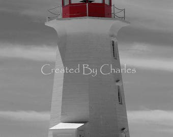 Peggy's Cove Lighthouse II