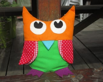 Plush OWL toy for baby's room