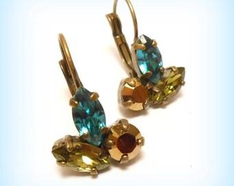Earrings Swarovski Crystal Stud Earrings