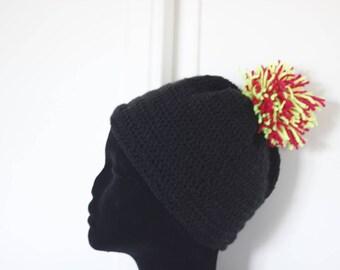 """Range Style"" crochet pompom Hat"