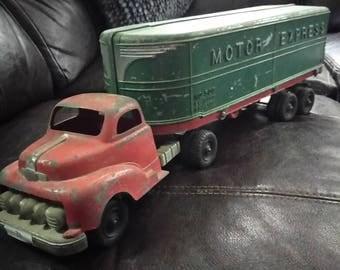 Hubley 1930 Cast Iron Motor Express Truck