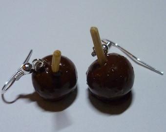 Apples earrings