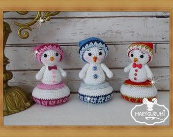 Box, crochet, Amigurumi Teddy