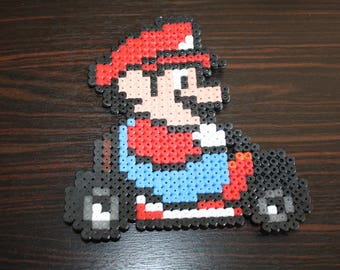 Pearls Hama Mario Kart (Mario)