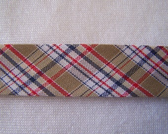 Bias Plaid, Jerk, 40/20 mm wide