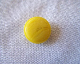 Button making, round, yellow, diameter 15 mm (Bo 231362)
