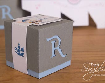 Box dragees - Pirate Theme - birthday or christening