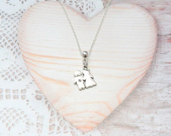 Necklace pendant charm chain married, wedding