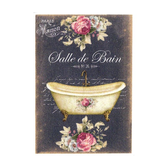 """Applied fusible - Collection """"Bath melts chalk"""" AT409 3"""