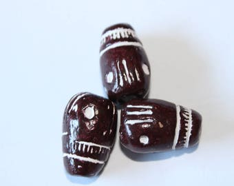 Terra cotta bead, 25 * 16 mm