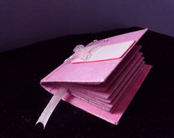"Mini book ""Arabesques Roses"""