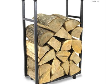 The Lancashire Log Holder Firewood Rack Log Basket Firewood Holder Firewood Storage