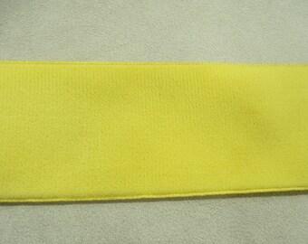 Ribbon - 5 cm - yellow Velvet