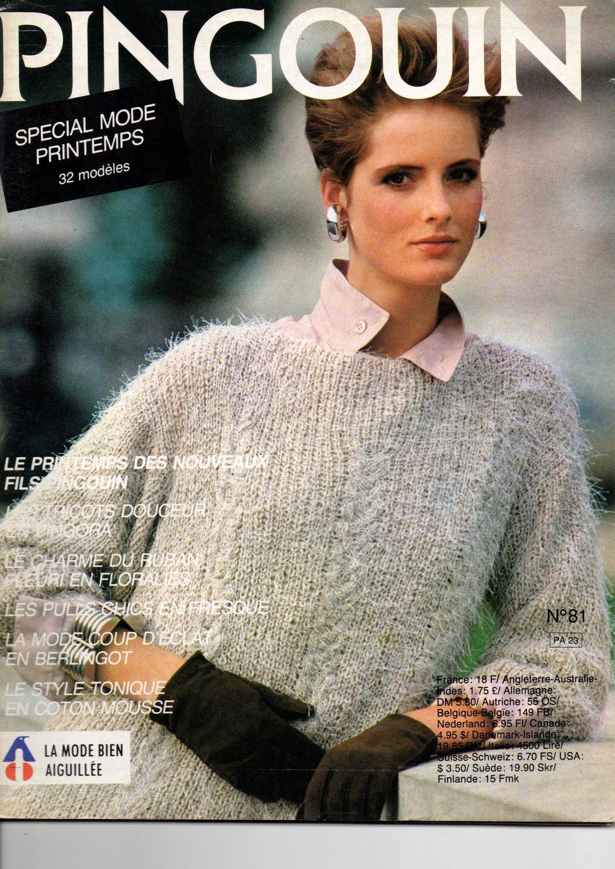 Catalogue tricot Pingouin femme spécial mode printemps 32