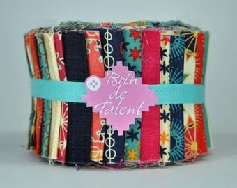 Quilt Roll Circus - strips of fabric for quilt - Jelly Roll