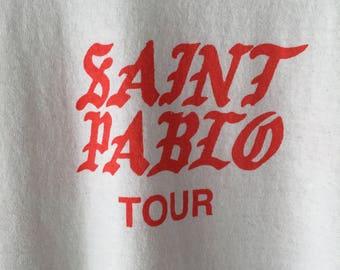 Saint Pablo Concert Shirt Size Large Authentic