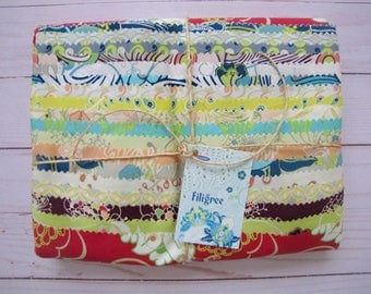 Filigree Fat Quarter Bundle (18) by Pat Bravo for Art Gallery Fabrics