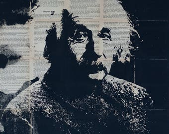 Albert Einstein Pop art,  Wall Art