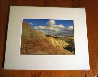 Badlands, Saddle Pass - Nature Photography