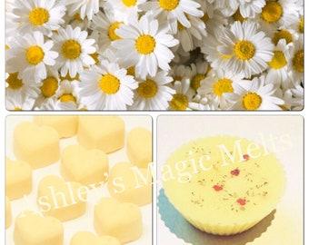 daisy perfume soy wax melts, designer dupe scented melts, perfume dupe highly fragranced melts, cheap wax melt gifts