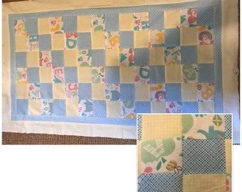 ABC Baby Quilt / Blanket