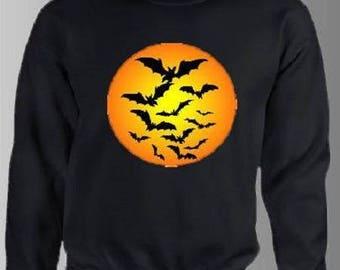 """SWEATSHIRT for men, printed """"Halloween"""""""
