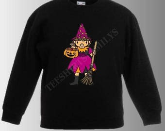 WITCH GIRL SWEATSHIRT