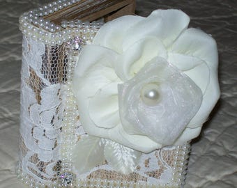 A ring BEARER box or A jewelry box